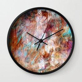 Colour Blurry Wall Clock