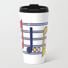 Pop Music Travel Mug
