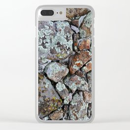 Mineral Rocks Clear iPhone Case