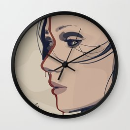 Tribal Girl I Wall Clock