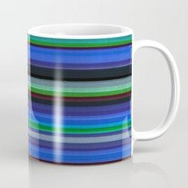 Colored Lines - Blue Coffee Mug
