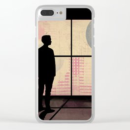 Sky Line Vision Clear iPhone Case
