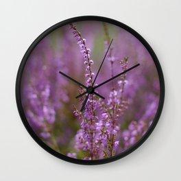 wrzosy Wall Clock