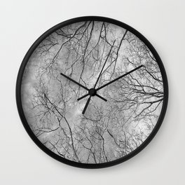 Trees are poems that earth writes upon the sky......K.Gibran Wall Clock