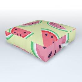 AFE Watermelon Pattern 3 Outdoor Floor Cushion