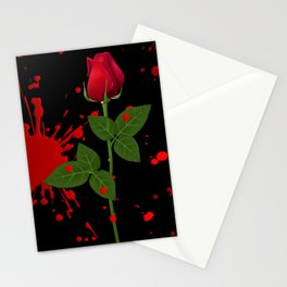 Background texture stain Stationery Cards