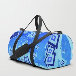 Stacked Squares Duffle Bag
