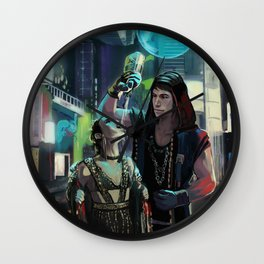 Partying in Coruscant Wall Clock