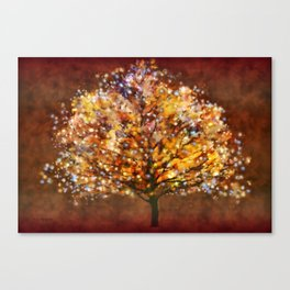 Starry Tree Canvas Print