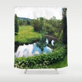 Haddon Hall Waters Shower Curtain