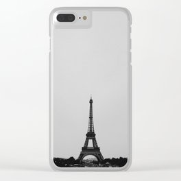 Eiffel Tower from afar Clear iPhone Case