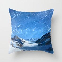 Jung Frau Throw Pillow
