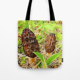 Morchella surrealis Tote Bag