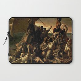 Gericault – Le radeau de la méduse – the raft of the medusa – La balsa de la medusa Laptop Sleeve