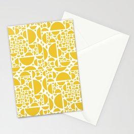 Mid Century Lemon Wedges  Stationery Cards