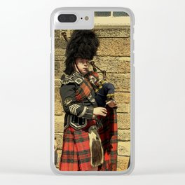 The Lonely Busker #3 Clear iPhone Case