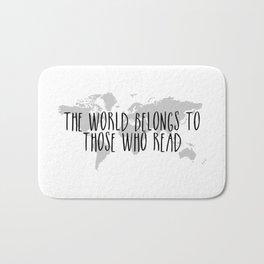 The World Belongs to those Who Read Bath Mat