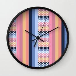 Butterflies lines Wall Clock