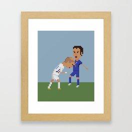 Zidane's Headbutt Framed Art Print