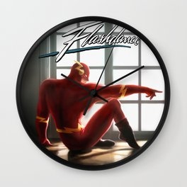 The Flash Dance Wall Clock
