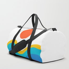 Abstract Y Minimum Colorful Pattern Duffle Bag