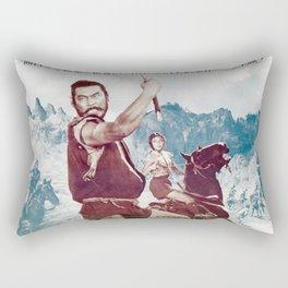 The Hidden Fortress Rectangular Pillow