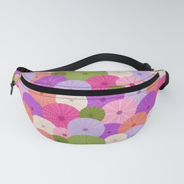 Colorful Sea Urchins 3 Fanny Pack