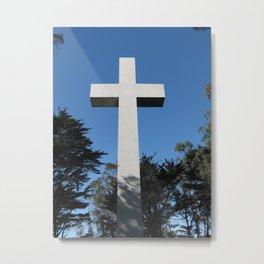 Cross, SF, CA. Metal Print