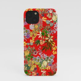 Gypsy Stoner on Red iPhone Case