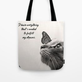 Fulfill Dreams Tote Bag