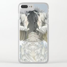 Explosive Clouds Clear iPhone Case