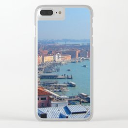Venice from Above Clear iPhone Case
