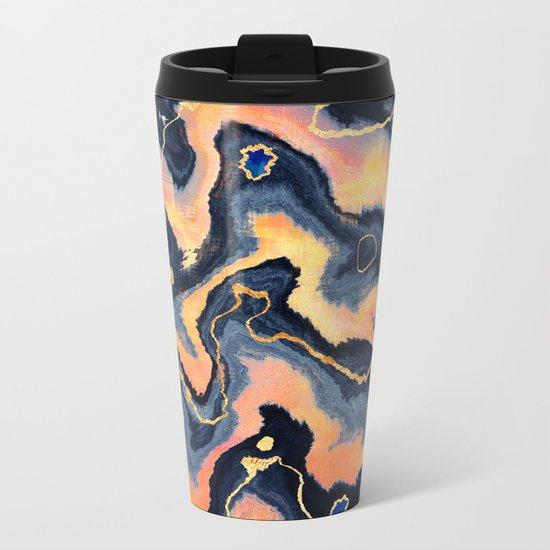 Hot Surface Metal Travel Mug