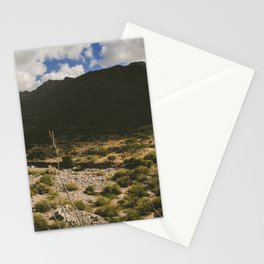 A Hike Through The Franklin Mountains Stationery Cards