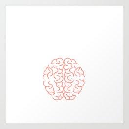"""Das Gehirn Eines Geocachers Muggel Detektor Ftf Booster Koordinaten Cerebellum Gps Tracker"" T-shirt Art Print"