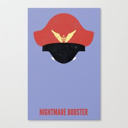 Bison - Nightmare Booster Canvas Print