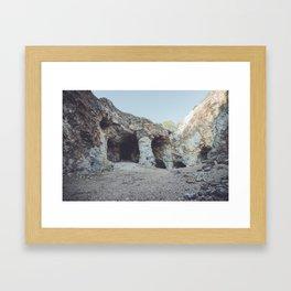 Mine Exploraton Framed Art Print