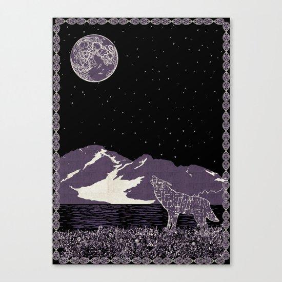 Wolf 1 Canvas Print
