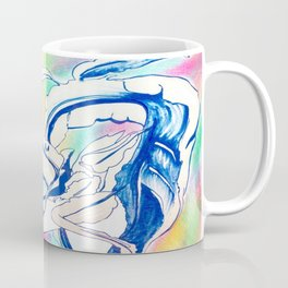 Plant in Blue Marker - Leaf of Life Miracle Leaf - Rainbow Colorful 2 Coffee Mug