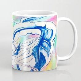Plant in Blue Marker - Leaf of Life Miracle Leaf - Rainbow Colorful 2 Coffee Mug