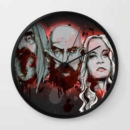 3 From Hell Wall Clock