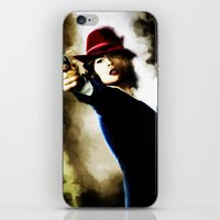 agent carter iPhone & iPod Skins featuring Agent Carter by Ms. Givens