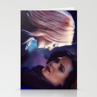 swan queen Stationery Cards featuring Swan Queen - Keep sailing by Two Swen Idiots
