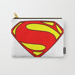 Superman Logo PNG Carry-All Pouch