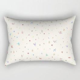Pretty and Sweet Florals Rectangular Pillow
