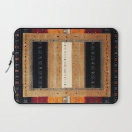 N126 - Oriental Traditional Vintage Moroccan Farmhouse Style Artwork Laptop Sleeve