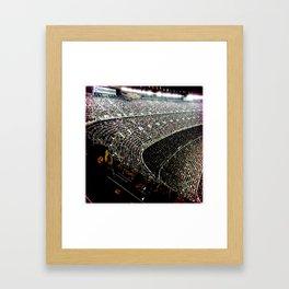 Camp Nou Framed Art Print