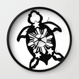 Turtle Pinoy Wall Clock