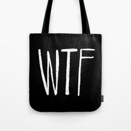 WTF Noir Tote Bag