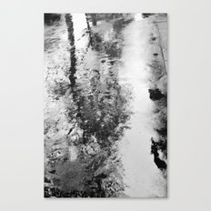 Bad weather. Canvas Print